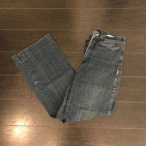 NYDJ Wide Leg Flare Jeans